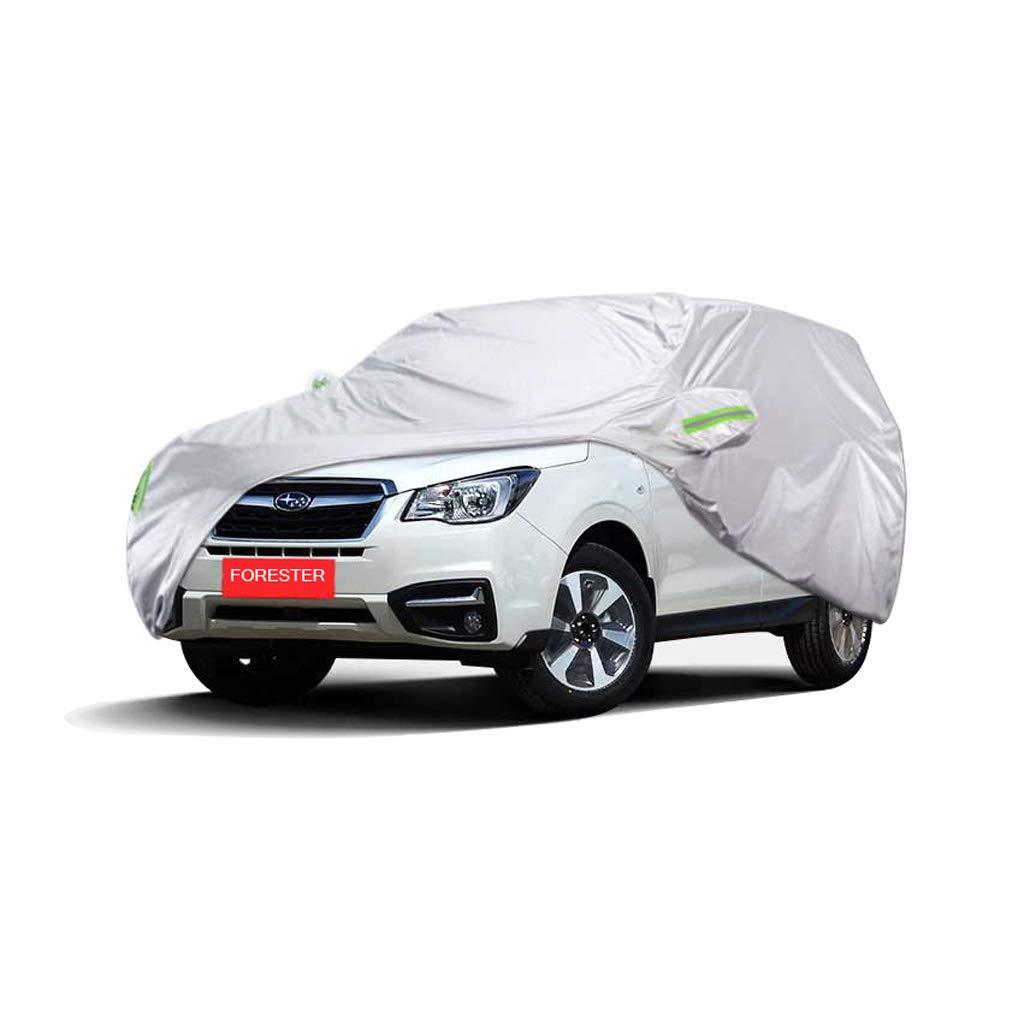 スバルフォレスタースペシャルカーカバーSUV厚いオックスフォード布日焼け止め防雨暖かいカバーカーカバー (サイズ さいず : 2017) 2017  B07PK18CDL