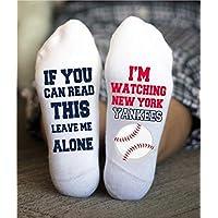 New York Yankees Socks Funny Birthday Gifts Baseball Team