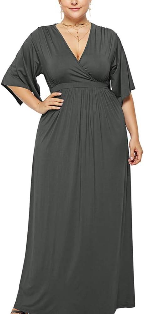 vestido largo premama tallas grandes