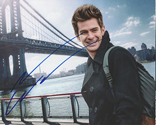 Stan Lee & Andrew Garfield Spider-Man Signed Authentic 8X10 Photo PSA #W25891 284990014