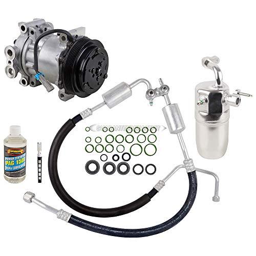 AC Compressor w/A/C Repair Kit For Chevy Silverado GMC Sierra Escalade - BuyAutoParts 60-81803RK NEW ()