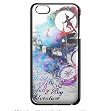 peter pan quote vr for iPhone 6/6s Black case