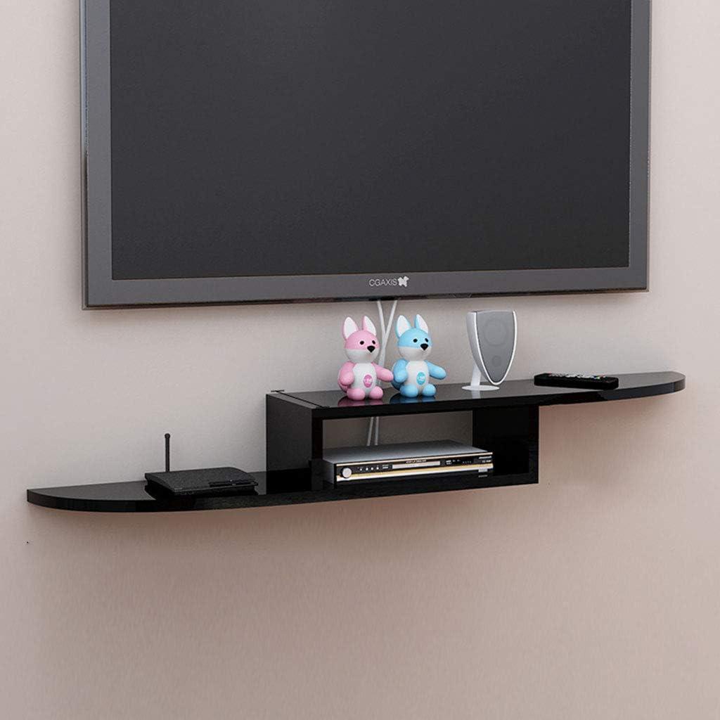 TV Wall Partition Shelf Colgar en la Pared Dormitorio TV Gabinete montado en la Pared Set-Top Box Shelf Fondo Decoración de la Pared (Color : C, Tamaño : 110cm): Amazon.es: Hogar
