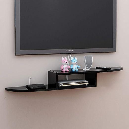 TV Wall Partition Shelf Colgar en la Pared Dormitorio TV Gabinete ...