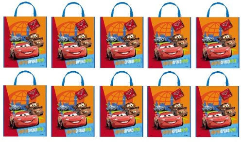 Disney Cars Costumes (Large Plastic Disney Cars Goodie Bag, 13