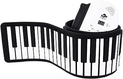 LIUFS-Piano Teclado de Mano portátil Piano 88 Teclado para ...
