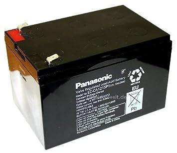 Panasonic LC batería de plomo de gel de ca1215p1 S de ...