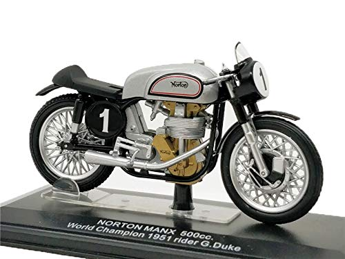 Diecasts & Toy Vehicles - ITALERI Diecast Motorcycle World Champion 1951 500cc Norton Manx #1 MotoGP Model Bike - by SINAM - 1 PCs from SINAM