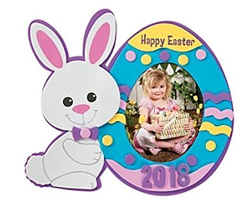 12 Pack - Easter Picture Frame Craft Kits - Dated 2018 happy deals otc
