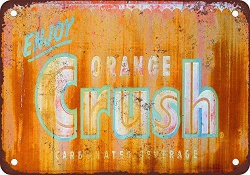Spsoic Enjoy Orange Crush Tin Sign 128 Advertising Striking Wall Decoration Gift