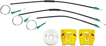 FOR SAAB 9-3 window regulator repair kit front left