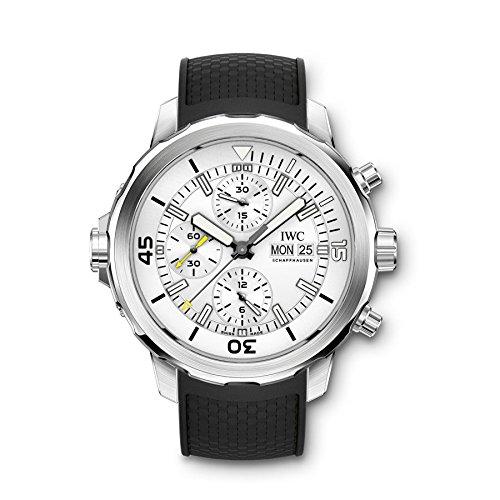 IWC Aquatimer Chronograph Silver Dial Mens Watch IW376801