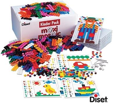 Diset 65255 Kinder Pack - Juego Creativo con Piezas de Formas ...