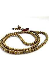 Tibet Buddhist 108 6mm Beads Prayer Mala Necklace/ Bracelet Wrist Mala