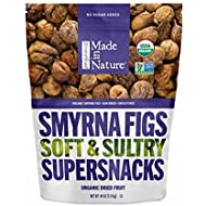 Made In Nature Organic Smyrna Figs Soft & Sultry Supersnacks 40 oz. Resaelable Bag