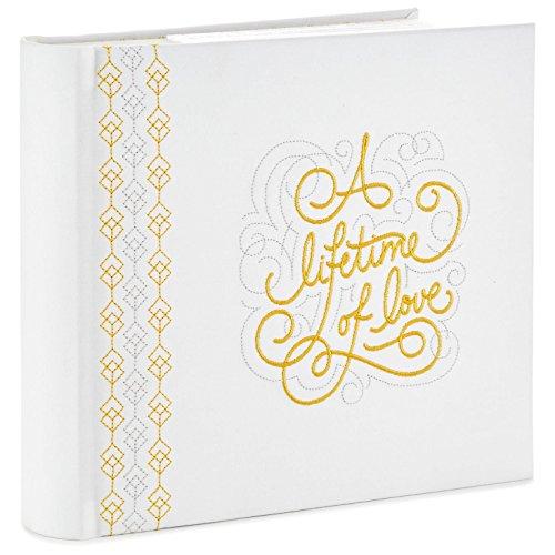 Hallmark A Lifetime of Love Wedding and Anniversary Album Photo Albums Milestones ()
