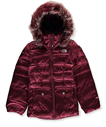 The North Face girls GOTHAM 2.0 DOWN JACKET NF0A34V9H5G_S - ZINFANDEL RED by The North Face