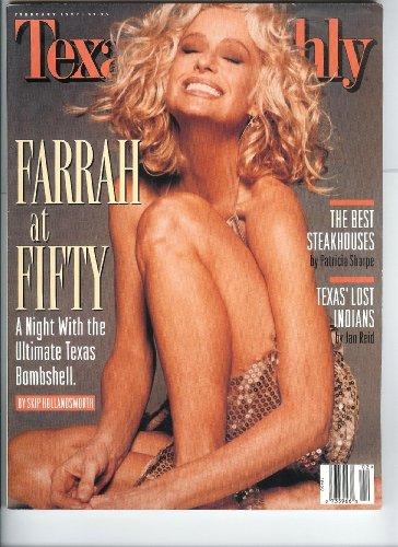 (February 1997 Charlie's Angels Farrah Fawcett Texas Monthly Magazine)