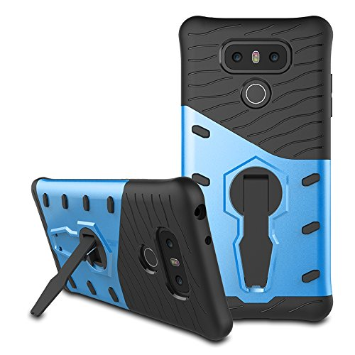360 Degree Dual Pro Protective Case for Apple iPhone 6 Plus (Blue) - 7