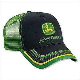 91795749bc0b45 Mens John Deere Hat/Cap (Black/Green Mesh) - LP52392: 0638302697842:  Amazon.com: Books