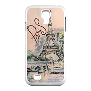 Chinese I love Paris High Quality Cover Case for SamSung Galaxy S4 I9500,Custom Chinese I love Paris Cell Phone Case