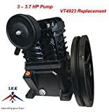 Campbell Hausfeld Replacement VT4923 3 Hp Cast Iron Air Compressor Pump Flywheel VT470000KB VT471400AJ VT232605KB VT472200AJ Review