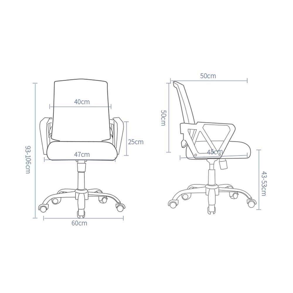 JIEER-C stol dator skrivbordsstol, fast armstöd hög rygg vilande verkställande ergonomisk kontorsskrivbordsstol med gungfunktion, grön gRÖN