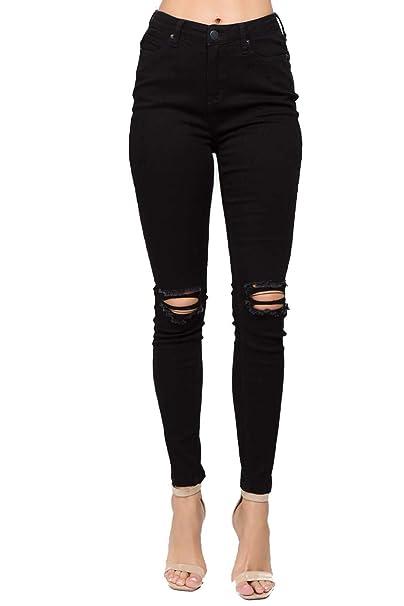 Amazon.com: TwiinSisters pantalones vaqueros para mujer de ...