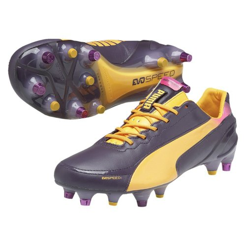 Cleats Purple Mixed L 1 EvoSpeed Football 2 Black SG Puma wqg0xFIW