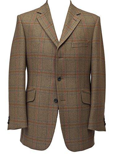 Bladen B7197 - Chaqueta para hombre Supasax Country Tweed British English Marrón marrón 52 Regular: Amazon.es: Ropa y accesorios