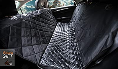 LaiFug Luxury Microfiber Leather Dog Car Seat Cover. Comfortable, Waterproof, Slip-proof, Easy To Clean, Hammock. Suitable For All Types Of Cars. by LaiFug