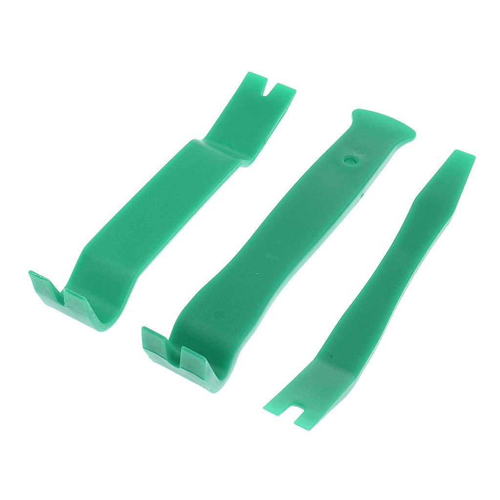 Blu KESOTO 11 Pezzi di Kit di Strumenti per Rimozione del Trim Automatico Pannello Porta dellaltoparlante del CD Audio di Car Dash