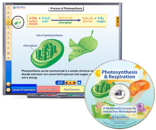 - NewPath Learning Photosynthesis and Respiration Multimedia Lesson, Single User License, Grade 6-10