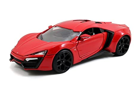 Jada Fast & Furious7: Lykan Hypersport 1/24 Scale (Red)
