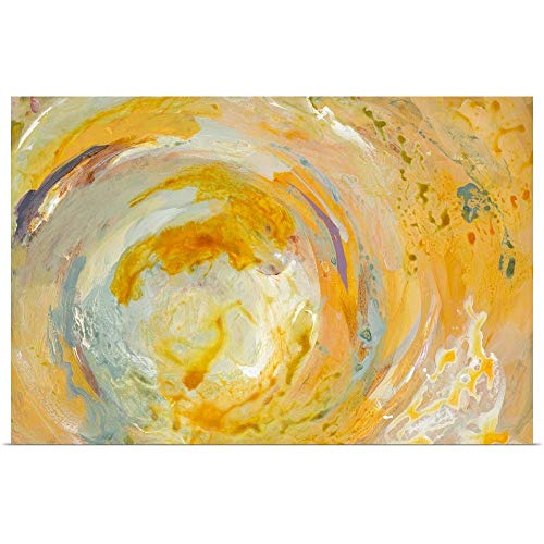 GREATBIGCANVAS Poster Print Entitled Swirl Oasis by Lanie Loreth 36