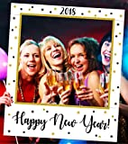 Aahs Engraving ''2018 Happy New Year'' Party Frame Photo Prop, 35 X 30 inches