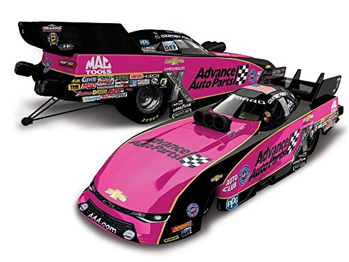Diecast Funny Car - Lionel Racing Courtney Force 2017 Advance Auto Parts Pink Funny Car 1:64 Diecast