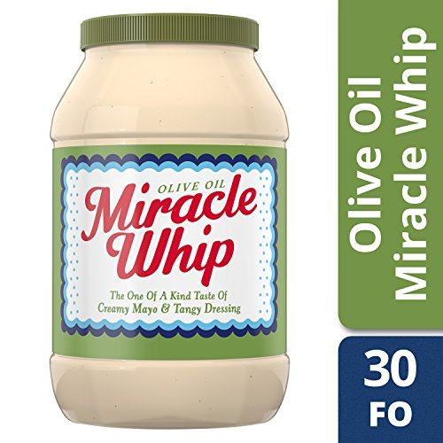 Kraft Miracle Whip with Olive Oil Dressing, 30 (Kraft Miracle Whip Dressing)