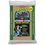 Unco Industries Wiggle Worm Soil Builder Earthworm Castings Organic Fertilizer, 15-Pound