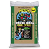 Unco Industries WWSB15LB Wiggle Worm Soil Builder Earthworm Castings Organic Fertilizer, 15-Pound