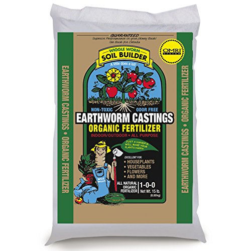 Unco Industries Wiggle Worm Soil Builder Earthworm Castings