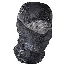 Gooday Motorcycle Under Helmet Balaclava Ski Bike Cycling Full Face Mask Motorbike Hat
