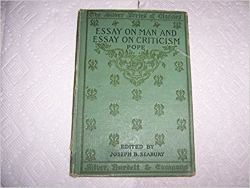 Pope s essay on man and essay on criticism alexander pope amazon