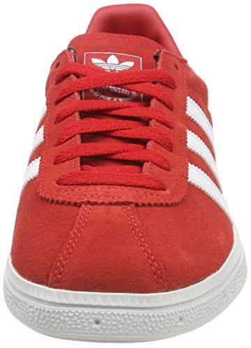0 scarlet Pour Baskets Chaussures Hommes Munchen Or Adidas Mtallis Rouge Blanc qwvn4HExT