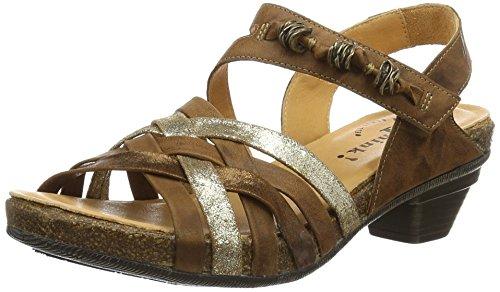 Womens Jomai Wedge Heels Sandals, Brown Think