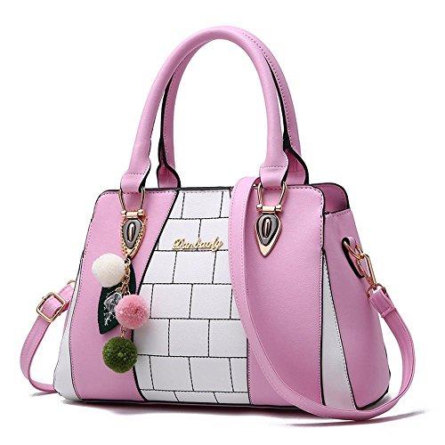 Aoligei Sac à main sacs à main mode sac à main à la mode féminine de la mode en Europe et en Amérique grand sac loisirs sac à bandoulière A