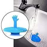 Slow Draining Toilet Silicone Drain Cover Kitchen Water Sink Drainer Strainer Disposal Stopper Plug