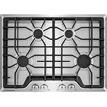 Frigidaire FGGC3045QS Gallery 30 in. Gas Cooktop in Stainless Steel with 4 Burners