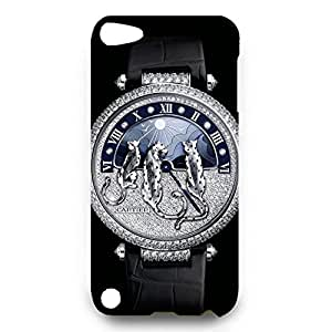 Cartier Watch Back Cover For Ipod Touch 5th 3D Hard Plastic Case