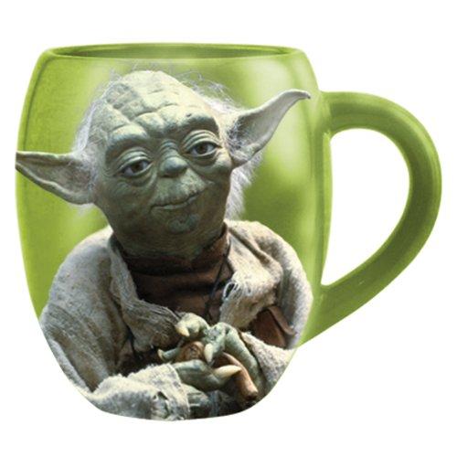 Star Wars Ceramic Yoda Mug